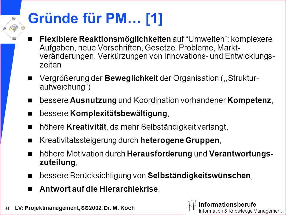 Gründe für PM… [1]